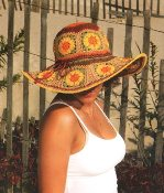 Grace Hats Julia Crocheted Sun Hat