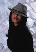 Grace Hats Julie Short Fedora with velvet band.