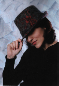 Grace Hats Winter Flower Fedora