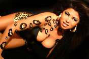 Xotic Cheetah Self Adhesive Body Art