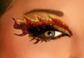 Xotic Eyes Blaze self adhesive makeup strips