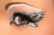 Xotic Eyes Angelic self adhesive eye makeup strips with crystals