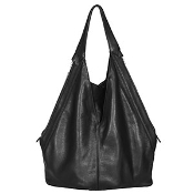 JJ Winters 385 Bag Black Lamba Leather