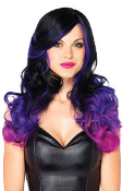 Leg Avenue Allure Multi Color Long Wavy Wig
