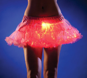 Pink Short light up petticoat