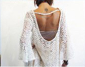 Gypsy Junkies Mimi Daisy Tunic in Cream or Black Daisy Lace