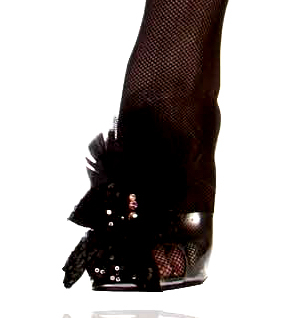 Black Swan Shoe adornments
